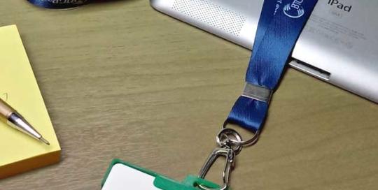 Cordão para Crachá Personalizado Digital BTGPactual