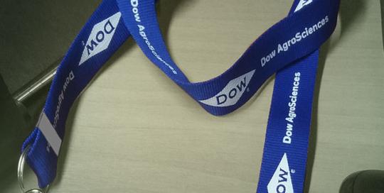 Cordão para Credencial Silk DOW