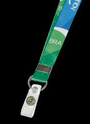 Cordão para Crachá Personalizado com alça