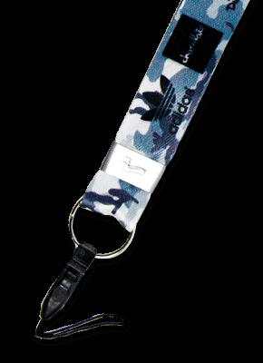 Cordão para Crachá Personalizado com ponteira